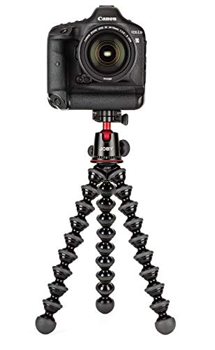 JOBY GorillaPod 5K Kit. Professional Tripod 5K Stand and Ballhead 5K for DSLR Cameras...