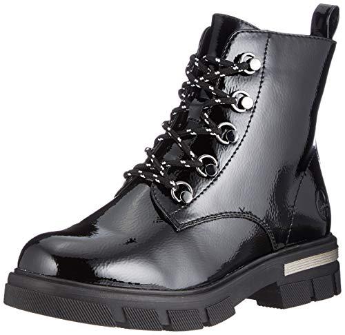 Rieker Damen 92610 Mode-Stiefel, schwarz, 40 EU