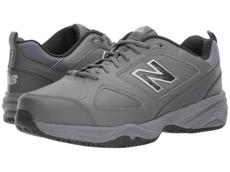 [ニューバランス] メンズ 男性用 シューズ 靴 スニーカー 運動靴 MID626v2 - Grey/Blue [並行輸入品]