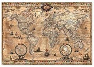 Educa Borras - Genuine Puzzles, Puzzle 1.000 piezas, Mapamundi (15159): Amazon.es: Juguetes y juegos