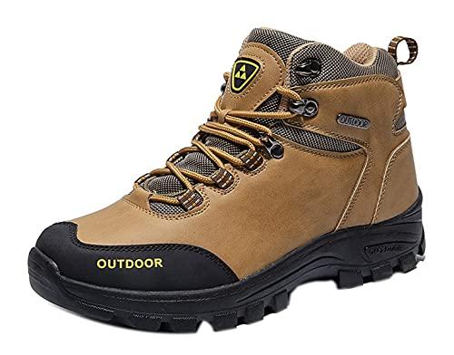 Zapatillas de Trekking para Hombre Botas de Senderismo Impermeables Botas de Montaña Antideslizantes AL Aire Libre Deportivas Sneakers