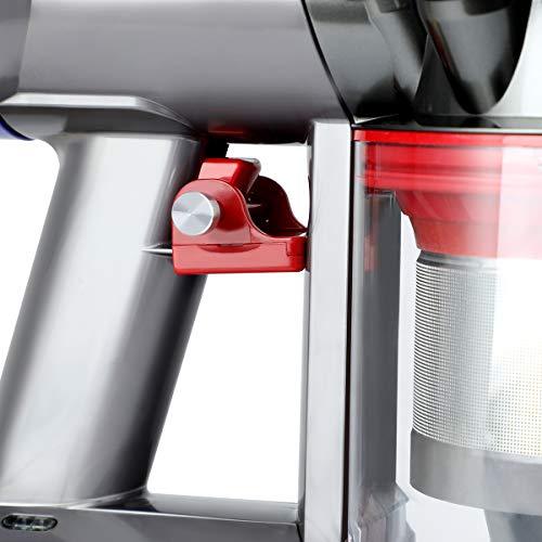 AIEVE Griffhalterung Schalter Halterung Startknopf Fixierung Zubehör kompatibel mit Dyson V8 V7 Absolute/Animal/Motorhead Handstaubsauger (fixieren Sie den Knopf beim Saugen)