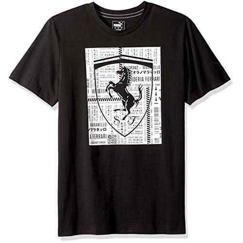 PUMA Men's Ferrari Big Shield T-Shirt