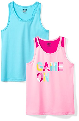 Brand Spotted Zebra Boys Toddler /& Kids 2-Pack Active Muscle Tank Tops
