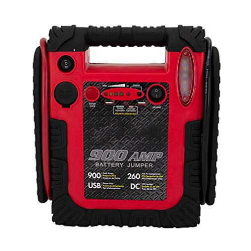Best Review Of Tealight Portable Power Station Jump Starter, 900 Peak/450 Instant Amps, 260 PSI Air ...