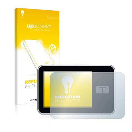 upscreen Entspiegelungs-Schutzfolie kompatibel mit Tandem Diabetes Care t:Slim X2 Insulin Pump – Anti-Reflex Bildschirmschutz-Folie Matt