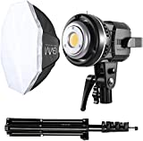 GVM Softbox Lighting Kit Professional Studio Photography Continuous Equipment with 80W 5600K for Portrait Product...