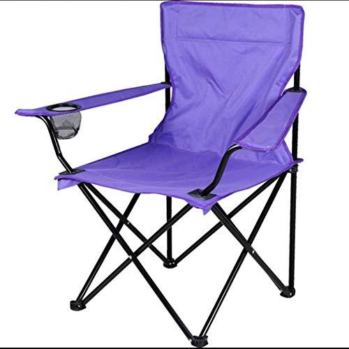 Milky Way Folding Camp Chair,Lightweight Durable Outdoor Seat,Perfect for Camping, Festivals, Garden, Caravan Trips, Fishing, Beach, BBQs,Fishing Picnic Garden (Purple)