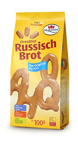 Dr. Quendt Dresdner Russisch Brot, 5er Pack (5 x 100 g)