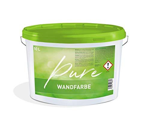 Innenfarbe Pure Wandfarbe weiß Effizient 10 L Dispersionsfarbe