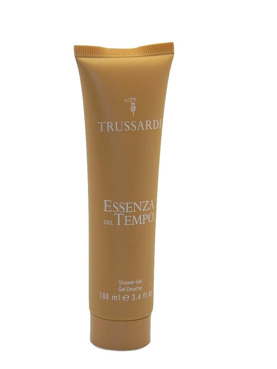 コマース火星平均Trussardi Essenza Del Tempo Shower Gel(トラサルディ エッセンザ デル テンポ シャワー ジェル)100ml [並行輸入品]