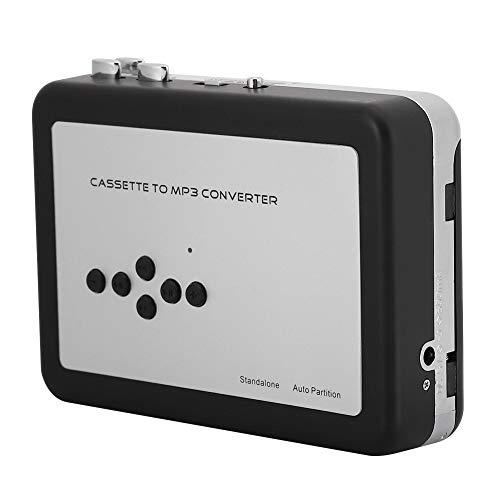Reproductor de casetes USB, Reproductor de Cintas portátil con Cable de Carga...
