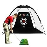 Best Indoor Golf Practice Nets - PGM Golf Net / 10x6x6.6 feet Practice Net Review