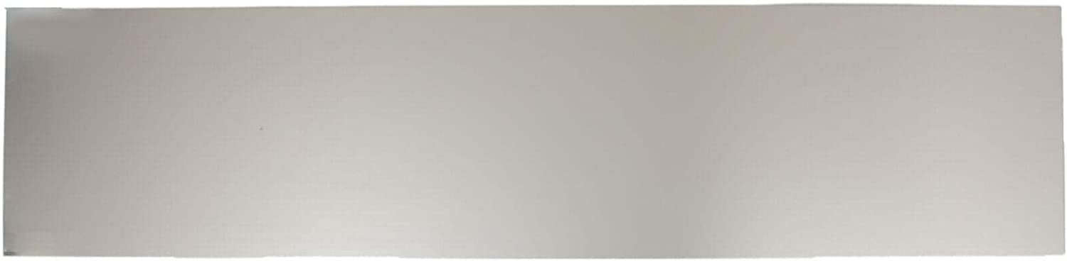 Magnetic Detroit Mall Kick Plate 8 inches by 34 Plat Satin Nickel Quantity limited