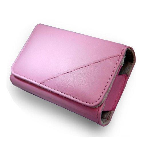 B28 rosa de piel sintética para cámara para OLYMPUS TOUGH TG 310...