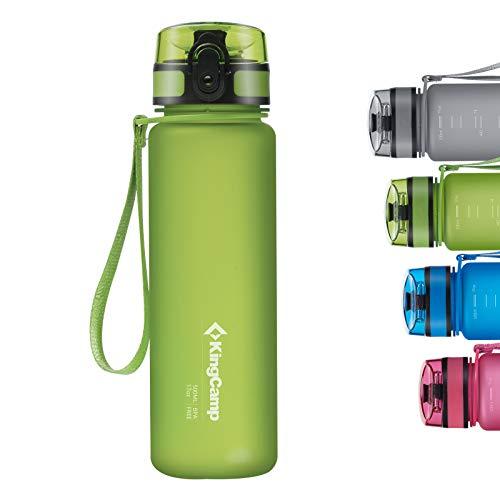 KingCamp Tritan 400/500/650/1000ml Borraccia senza BPA