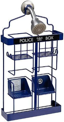 Doctor Who TARDIS free Shower Year-end gift Caddy Rack