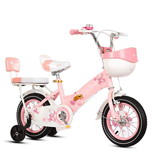 Portable Kids' Road Bicycles Kids' Balance Bikes Children's Bicycle 12-18-inch Boy And Girl Stroller 2-9 Year Old Student Bicycle Outdoor Mountain Bike Multi-Functional Bicycle Best Gift For Children