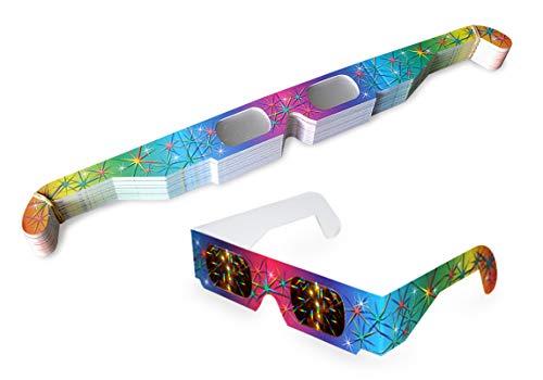 50 Stück original Multispektral Brille Regenbogen
