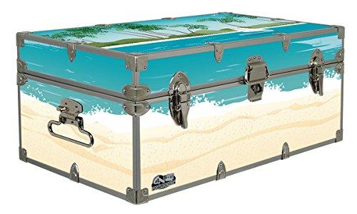 C&N Footlockers Designer Trunk - Sailin Away - 32x18x13.5