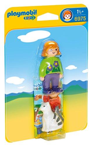 Playmobil 1.2.3 Mujer con Gato 6975