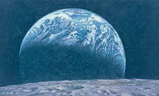 Alan Bean - Kissing the Earth Triple Signed!