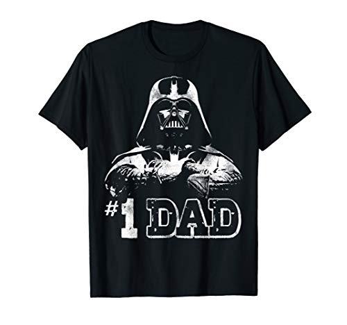 Star Wars Vader #1 Dad Vintage Father's Day Graphic T-Shirt