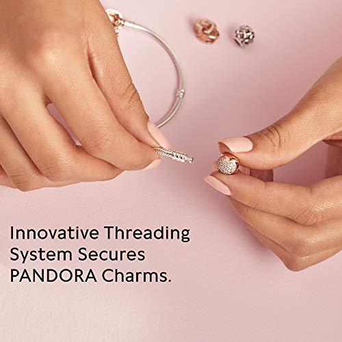 Pandora Women Silver Charm Bracelet - 580719-19