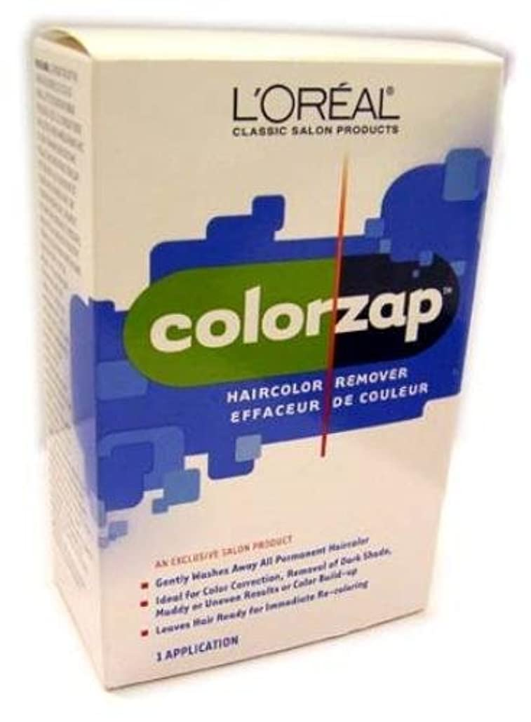 デンマーク語到着フェッチL'Oreal Technique - Color Zap - Haircolor Remover KIT