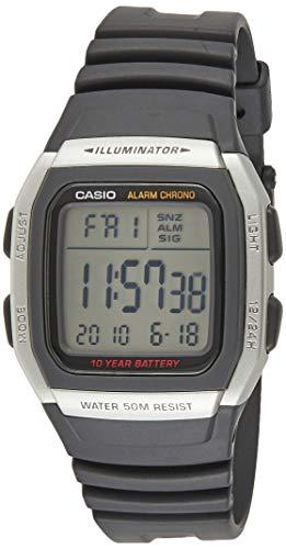 Casio Youth Digital Grey Dial Men's Watch - W-96H-1AVDF (D031)