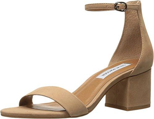 Steve Madden Women's Irenee Dress Sandal, Tan Nubuck, 5.5 M US
