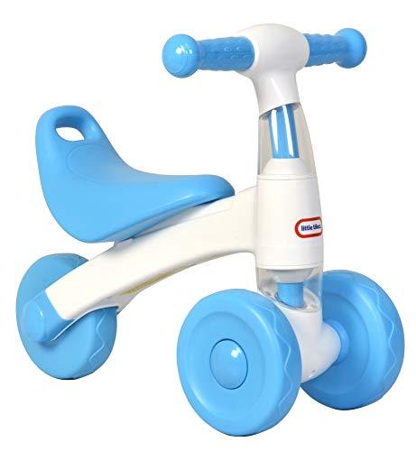 Little Tikes - Bicicletta da passeggio, colore: bianco e blu
