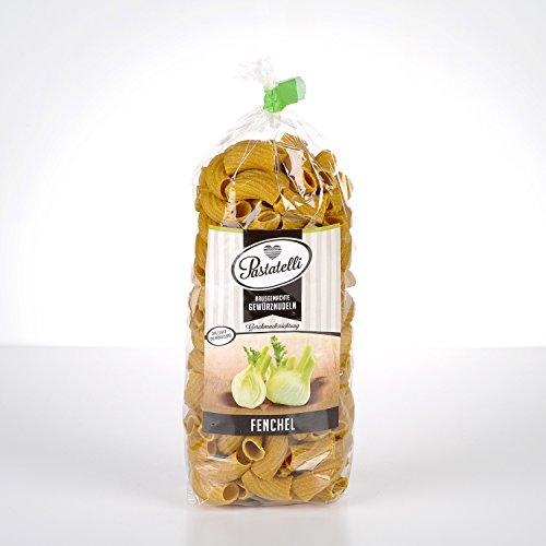 Pastatelli Fenchel Nudeln - Fenchelnudeln - Fenchel-Gewürznudeln - Fenchel Pasta vegan - Anis Aroma Nudeln