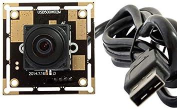 Autofocus USB Camera Webcam Module Mini HD Cameras CMOS OV5640 USB with Cameras,2592X1944 Webcamera,Tiny Home Nanny USB Ca...