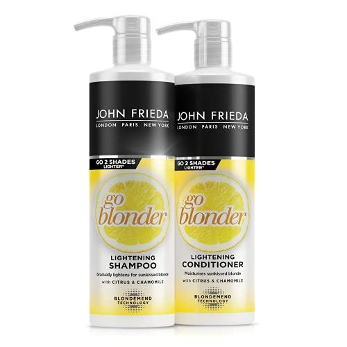 John Frieda Go Blonder Gradual Lightening for Natural Looking Sun Kissed...