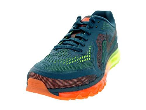 Nike Men's Air Max 2014 Night Factor/Blk/ATMC Orng/VLT Running Shoe 11.5 Men US