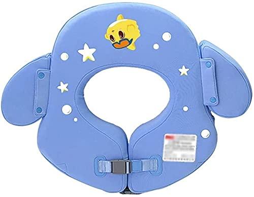 QUQU Inflable Natación Linda Anillo Flotante Inflable Fila Piscina boya de baño Infantil Anillo Piscina Ducha de Seguridad Auxiliar Anillo Flotante Anillo adecuados (Color: Azul)