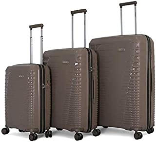 Titan light weight Hardshell Spinner Luggage set of 3 pieces with TSA Lock and 100% polypropylene material