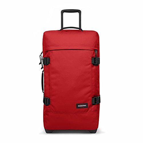 Eastpak Tranverz M, Bagaglio con Ruote Unisex - Adulto, Rosso (Apple Pick Red-F98M), 78 liters, Taglia Unica (67 cm x 35.5 cm x 30 cm)
