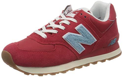New Balance 574', Sneakers Uomo, Rosso, 42.5 EU