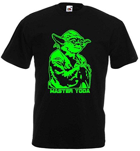 Star Wars Kinder T-Shirt Master Yoda Jedi Master Kids152
