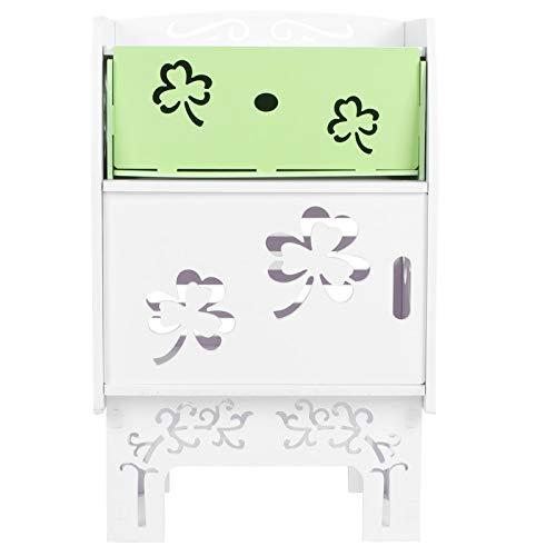 Fybida Ampliamente Utilizado, Mesa de Noche para Muebles de Dormitorio, Impermeable, para Sala de Estar, para Dormitorio,