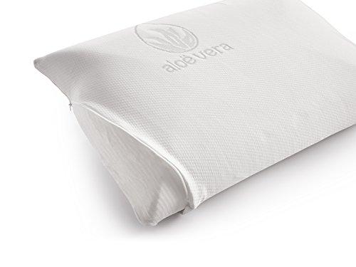 naturalex Memory Foam Pillow 60 x 40cm Aloe Vera