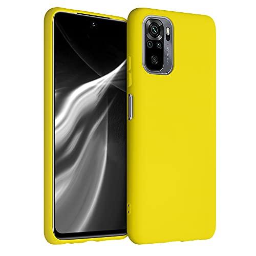 kwmobile Hülle kompatibel mit Xiaomi Redmi Note 10 / Note 10S - Hülle Handyhülle - Handy Hülle in Vibrant Yellow