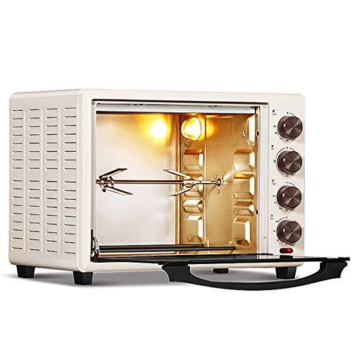 Four électrique multifonction 32L domestique 5 modes de cuisson Contrôle indépendant de la température des tubes supérieurs et inférieurs Fermentation entièrement automatique Fourchette de rotation
