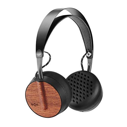 House of Marley Buffalo Soldier kabellose Kopfhörer, On-Ear Design, Premium Sound, 40mm Drivers, Batterielaufzeit 16 Stunden, Integriertes Mikrofon mit Steuerung