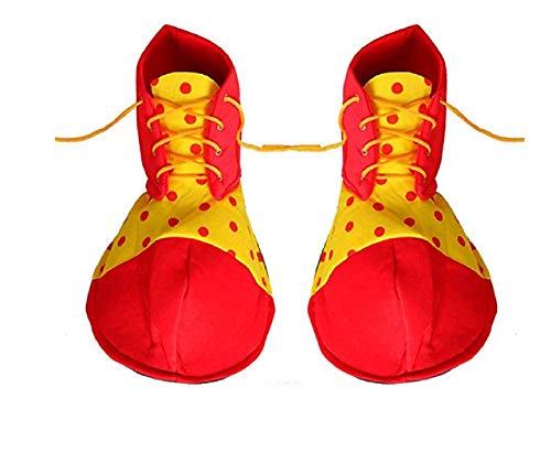 Matissa Clown Kostüme für Männer und Frauen Erwachsene Clown Zubehör und Sets (Clown Schuhe)