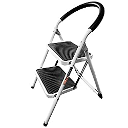2 step ladder for old age people