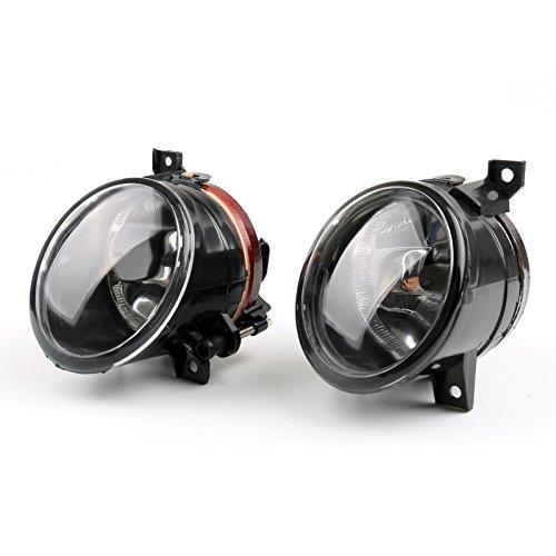 Artudatech - Luces antiniebla para coche, redondas, luces delanteras, para V-W, Jetta, Bora, Golf MK5 GTI