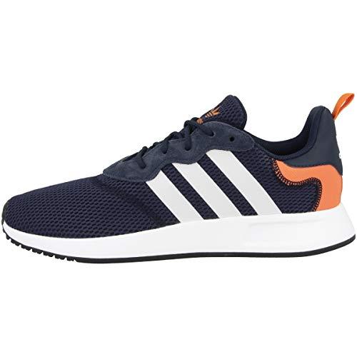 adidas Herren X_PLR 2 Sneaker, Collegiate Navy/Footwear White/Orange, 43 1/3 EU